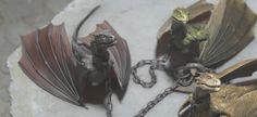 Dany's baby dragons #gameofthrones #daenerys