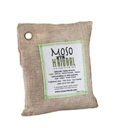 Natural charcoal deodorizer and allergen reducer