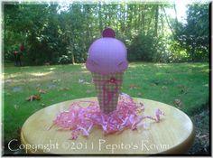 PRB21 U Scream Cone Box Template SVG PDF  birthdays by PepitosRoom, $4.00