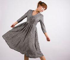 #  grey dress #2dayslook #greyfashion  www.2dayslook.com