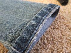 DIY: Hem Jeans Fast & Easy |do it yourself divas