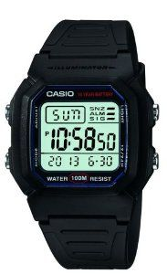 #7: Casio Men's W800H-1AV Classic Digital Sport Watch