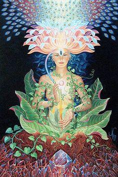 #visionaryart #art #beautiful #visual #trippy #psychedelic #sacred