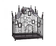 UCELLO BIRDCAGE by Zodax Elegant! We just love this gothic-style bird cage.    On sale till the 22nd of June!