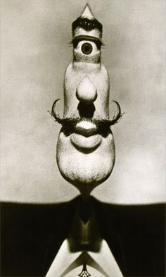 The Dali Cyclops, a collaboration between Salvador Dali and photographer Philippe Halsman, 1953