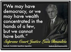 on Democracy and Plutarchy