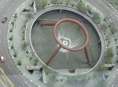 Fuente de la Fortuna Se construyó en Singapur en el año 1995
