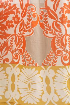 orange curtains from urbanoutfitters. $39 a panel. looks like a christmas gift for me! :)