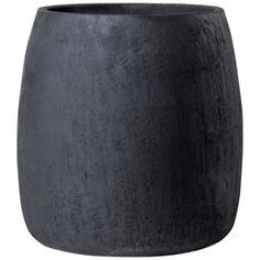 �13-in H x 13-in W x 13-in D Dark Gray Clay Outdoor Pot