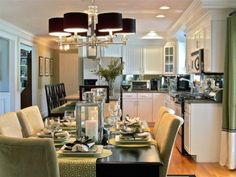 Perfect eat-in-kitchen