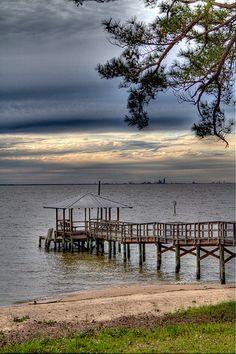 Mobile Bay, Mobile, Alabama