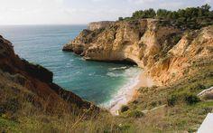 Best Quiet Beaches in Portugal |Praia do Paraiso, Lagoa (Algarve)