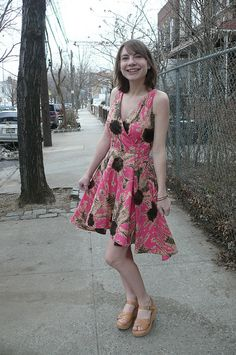 pattern, gingermak, dresses, flora dress, hand london