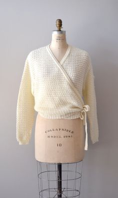 Vanilla wrap sweater