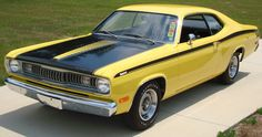 1972     340 Plymouth Duster (Owned an orange '72 340 Duster - one of my favorites!)