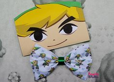 Toon Link Legend of Zelda Hair bow/ Bow tie by FangirlyStorm, $6.75  ughhh too cute