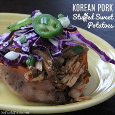 Korean Pork Stuffed