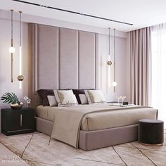 Join us and enter the world of luxury and modern furniture and lighting! Get the best bedroom lamps for your interior design project at luxxu.net #interiordesignideas #luxury #interiordesign #lighting #bedroom #bedroomdecor