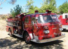 American La France Firetruck