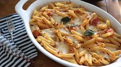 Baked Pasta with Roa