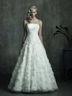 Allure C152  Wedding Dress. #allure #wedding #dress