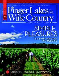 Request a free Finger Lakes Wine Country of New York travel magazine..