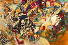 Painter of the Week Kandinsky. Today Composition VII Painter of the Week: Kandinsky. Today: Composition VII