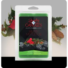 You are bound to love this fragrance, as it fills up your home this season. Mistletoe isn't just for kissing under! A blend of citrus, blue spruce, and frosted cranberries create this perfect holiday scent! Merry Mistletoe Wax Tarts Infused with Fir, Peppermint, and Cedar Leaf essential oils