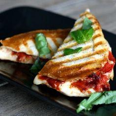 Roasted Tomatoes, Fresh Mozzarella & Basil Panini Recipes ...
