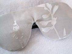 Natural Linen and Silk Luxury Sleep Mask Eye Mask/Etsy/AllNaturalSleepShop
