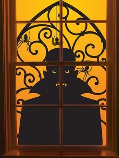 Martha Stewart Crafts - Halloween - Window Clings - Vampire