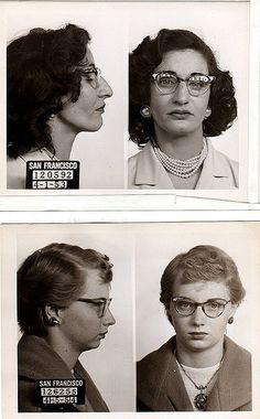 mugshots, 1950s