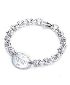 Return to Tiffany & Co Oval Tag Bracelet