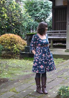 made by rae washi dress in nani iro : miss matatabi