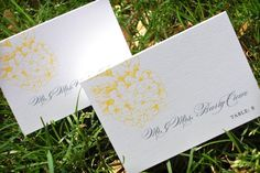 Place Card/Escort Card