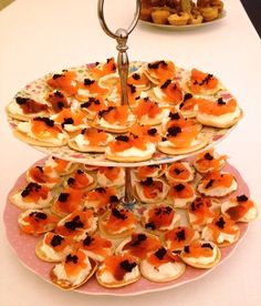 My garden party on pinterest canapes tea sandwiches and for Easy cold canape ideas