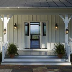 vertical siding Ridgeside Vineyard Farmhouse - traditional - exterior - other metro - Barnes Vanze Architects, Inc
