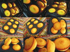 Some pics of tasty orange muffins made by Naty Rive