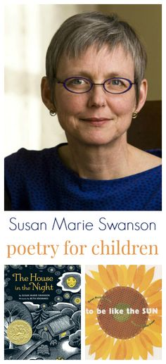 "Susan Marie Swanson: «I write poetry and picture books. ""Trouble, Fly,"" a poem from Getting Used to the Dark, my collection of poems for young readers, appears in an acclaimed anthology, This Place I Know: Poems of Comfort. I hold an MFA in poetry from the University of Massachusetts Amherst; and my honors include a poetry fellowship from the Bush Foundation, and fellowships in poetry and in children's literature from the McKnight Foundation»"