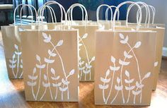 Decorate your own gift bag!