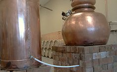 Here are the Copper Stills @ Dancing Pines Distillery.