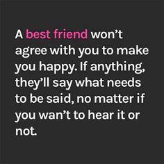 A best friend..