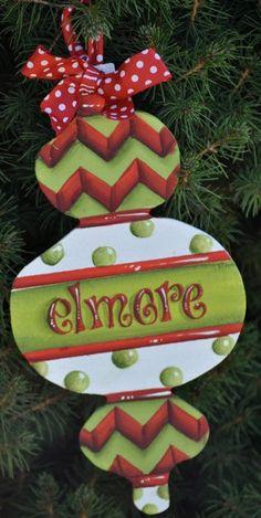 Christmas Ornaments  www.preppyandpinknc.com
