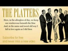 ▶ The Platters - Twilight Time - Lyrics - YouTube