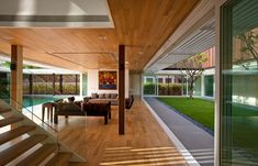 Enclosed Open House by Wallflower Architecture + Design
