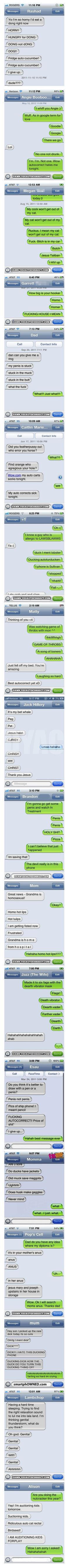 18  reasons not to own a smartphone. Best Autocorrect Struggles  I laughed myself to tears