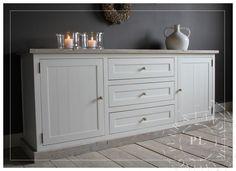 Dressoir Decoratie Ideeen : Decoratie dressoir landelijk meubels door eigen handen