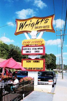 Wright's Dairy-Rite...Staunton, Virginia