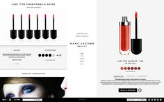 Marc Jacobs Beauty website