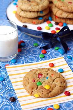 Giant M Cookies